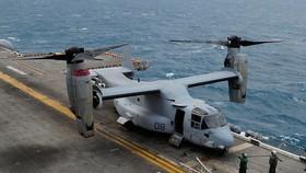 Một chiếc MV-22 Osprey của quân đội Mỹ. Ảnh: Getty.