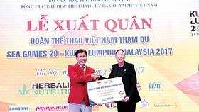 Herbalife và Ủy ban Olympic Việt Nam tài trợ cho gần 500 VĐV Việt Nam  tham gia SEA Games