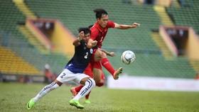 Ngày 5-9 tới, Việt Nam tiếp tục gặp đội bóng láng giềng Campuchia.   Ảnh: Dũng Phương
