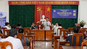 Quang cảnh họp báo