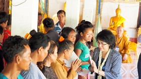 Tình hữu nghị Việt - Lào luôn được vun đắp, gìn giữ cho thế hệ mai sau