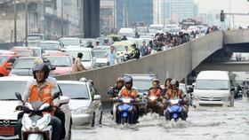 Bangkok: Mưa kỷ lục trong vòng 25 năm qua