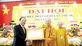 Hòa thượng Thích Trí Quảng tiếp tục giữ chức Trưởng ban Trị sự Giáo hội Phật giáo Việt Nam TPHCM
