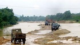Nạn khai thác cát lậu ngày càng phức tạp