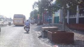 Hỗ trợ nhà ở bị ảnh hưởng khi nâng đường