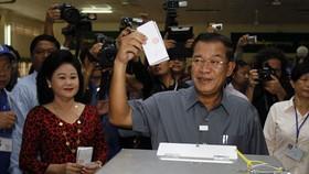 Thủ tướng Campuchia khẳng định bầu cử đúng tiến độ
