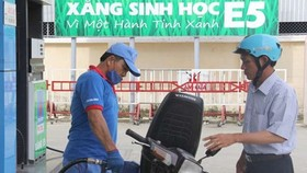 Kiến nghị xử lý đơn vị kinh doanh xăng dầu chưa bán lẻ xăng sinh học E5