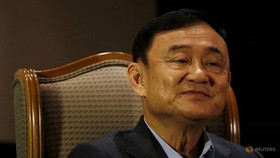 Cựu Thủ tướng Thái Lan Thaksin Shinawatra. Ảnh: Reuters.
