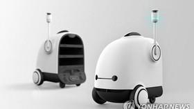 Robot giao đồ ăn tại nhà