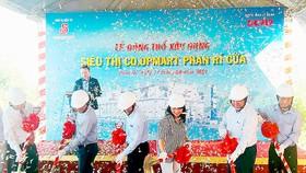 Co.opmart Phan Rí Cửa dự kiến đi vào hoạt động vào cuối năm 2018