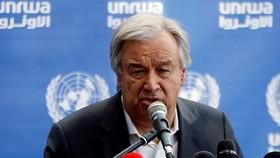 Tổng thư ký Liên Hiệp Quốc Antonio Guterres ẢNH: REUTERS