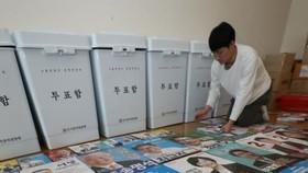 Hàn Quốc bỏ phiếu bầu cử địa phương sớm