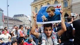 Thủ tướng Đức thừa nhận cuộc khủng hoảng di cư có thể quyết định số phận EU (Ảnh: AP).