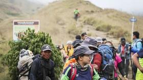 Indonesia giải cứu hàng trăm người kẹt trên núi