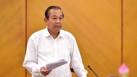 Phó Thủ tướng  Thường trực Trương Hòa Bình: Nguồn Chính phủ