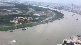 Một đoạn sông Sài Gòn                                            Ảnh: An Minh