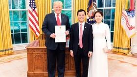 Tổng thống Donald J.Trump đánh giá cao bước phát triển của quan hệ Đối tác Toàn diện VN- HK