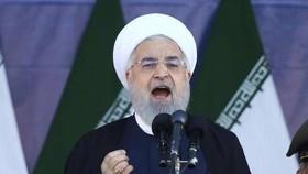 Tổng thống Iran Hassan Rouhani. (Nguồn: AP)