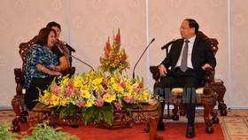 Phó Bí thư Thường trực Thành ủy TPHCM tiếp đoàn đại biểu Hội Liên hiệp Phụ nữ Cuba