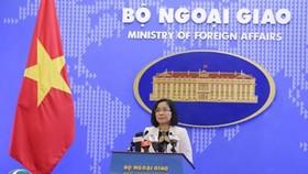 Việt Nam yêu cầu Trung Quốc chấm dứt ngay  việc lắp đặt cấu trúc mới trên đá Bông Bay