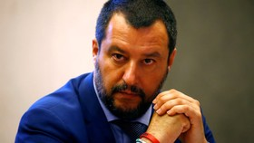 Bộ trưởng Nội vụ Italy Matteo Salvini. (Ảnh: Reuters)