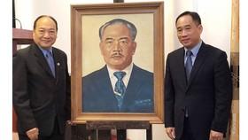 Phục chế thành công 4 tác phẩm mỹ thuật của Lào