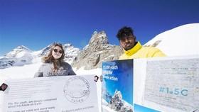 Bưu thiếp kêu gọi chống biến đổi khí hậu