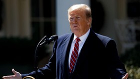 Tổng thống Mỹ Donald Trump. (Ảnh: THX/TTXVN)