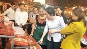 Nhân rộng mô hình chợ đảm bảo an toàn thực phẩm