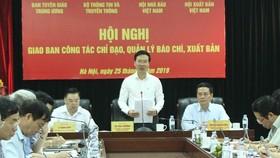 Đồng chí Võ Văn Thưởng phát biểu chỉ đạo. Ảnh: Tuyengiao.vn