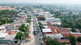 Tỉnh lộ 15 tại huyện Củ Chi       Ảnh: THÀNH TRÍ
