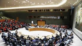 Toàn cảnh một cuộc họp Hội đồng Bảo an LHQ ở New York, Mỹ. Ảnh: THX/TTXVN