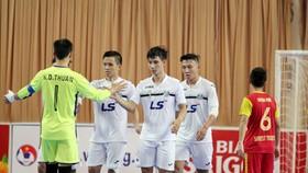 Thái Sơn Nam có chiến thắng dễ dàng trước Sanest Tourist Khánh Hòa. Ảnh: Anh Trần