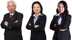 Từ trái qua phải: Ông Trần Phương Bình, bà Nguyễn Thị Ngọc Vân và bà Nguyễn Thị Kim Xuyến. Nguồn ảnh: Internet
