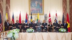Trưởng đoàn các nước tại hội nghị đặc biệt Bộ trưởng Ngoại giao ASEAN - Hoa Kỳ