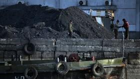 Khai thác than đá tại Triều Tiên. Ảnh: New York Times