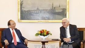 Thủ tướng Nguyễn Xuân Phúc hội kiến Tổng thống CHLB Đức Frank Walter Steinmeier.