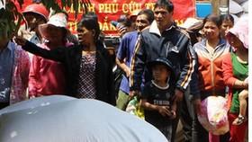 Hỗ trợ gạo cứu đói tại 4 tỉnh ăn tết