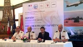 Đại sứ quán Pháp tổ chức họp báo về Chiến dịch PESAGE tại Việt Nam. Ảnh: Báo điện tử Đảng Cộng sản Việt Nam