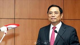 Đồng chí Phạm Minh Chính, Uỷ viên Bộ Chính trị, Bí thư Trung ương Đảng, Trưởng Ban Tổ chức Trung ương. Ảnh: TTXVN