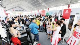 Không gian Trải nghiệm Cuộc sống tuyệt vời cùng Taiwan Excellence thu hút đông đảo khách tham quan tại sự kiện HCMC Marathon 2019