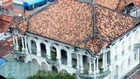 Căn biệt thự cổ tại 110-112 Võ Văn Tần (quận 3, TPHCM). Ảnh: hcmcpv