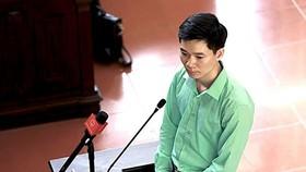 Bị cáo Hoàng Công Lương tại phiên tòa