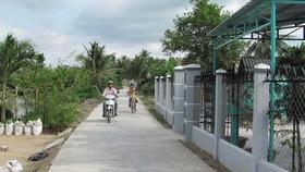Nông thôn mới ở TPHCM không còn hộ nghèo chuẩn quốc gia