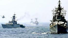 Một cuộc tập trận chung giữa hải quân 3 nước Mỹ, Ấn Độ và Nhật Bản