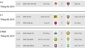 Lịch thi đấu vòng 19 Giải hạng nhất Quốc gia LS 2019: Hồng Lĩnh Hà Tĩnh tiến sát ngôi vô địch