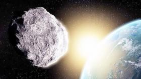 Thiên thạch khổng lồ bay sát Trái đất