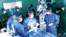 Ứng dụng trí tuệ nhân tạo của hệ thống Robot Modus V Synaptive trong phẫu thuật thần kinh tại BV Nhân dân 115