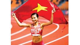 VĐV điền kinh Nguyễn Thị Oanh