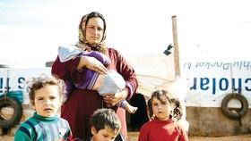 Rất nhiều người dân Syria phải rời bỏ nhà cửa vì xung đột